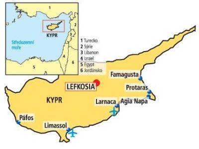 Kypr - Larnaka