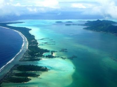 Francouzská Polynésie - Kombinace Moorea a Bora Bora