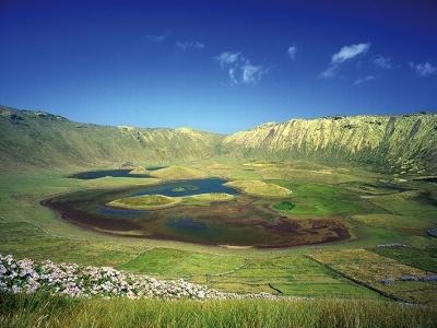 Azorské ostrovy - Ostrov Corvo