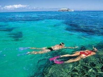 Australský komplet - Tasmánie - rudý střed - Velký korálový útes