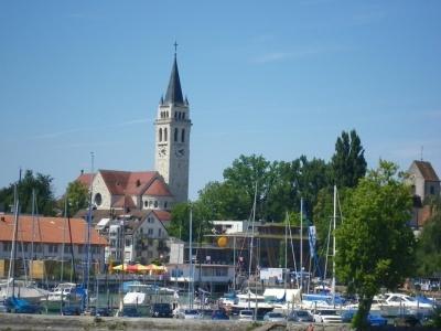 Bodamské jezero, Německo, Rakousko, Švýcarsko - hotel Goldener Hirsch