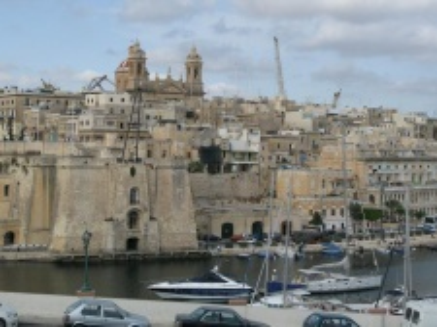 Malta, Gozo - letecky