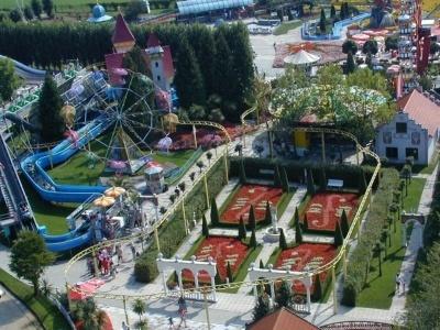 Zábavný park Churpfalzpark s autobusovou dopravou