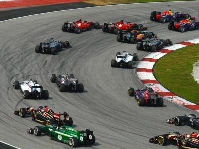 Formule 1 - Velká cena Malajsie 2016, okruh Sepang