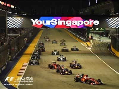 Formule 1 - Velká cena Singapuru 2016