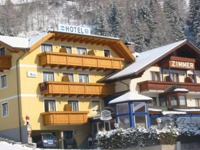 Gletschermühle hotel Flattach