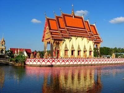 Bangkok - hotel Bangkok Palace, Ko Samui - hotel Ammatara Pura Pool Villa