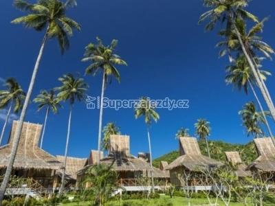 Bangkok - hotel Bangkok Palace, Phi Phi - Phi Phi Island Village, Phuket - hotel Katathani Beach