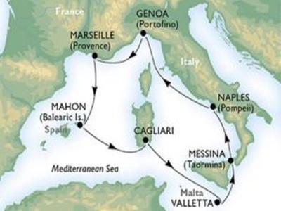 Plavba - Po středomořských krásách z Janova