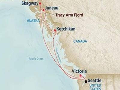Plavba - Severní Amerika - Aljaška na lodi Emerald Princess