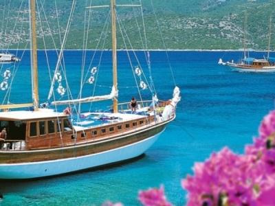 Modrá plavba Tureckou rivierou
