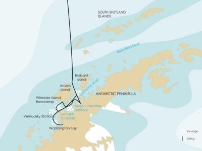 Plavba na Antarktický poloostrov - Basecamp Plancius