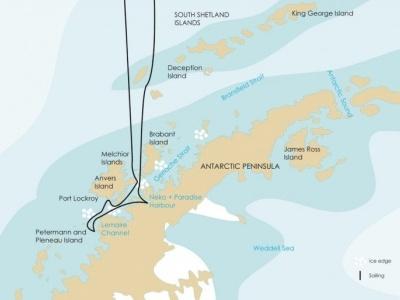 Plavba Antarktický poloostrov - Ortelius