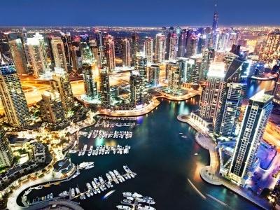 Omán - Dubaj - Abú Dhabí  koupáním