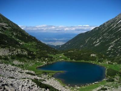 Pohoří Pirin a Rila - střecha Balkánu - letecky