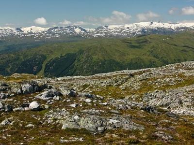 Norské fjordy - střední část Norska