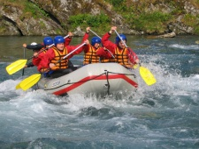 Rafting v Norsku