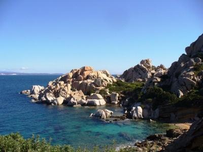 Cvičení na Sardinii