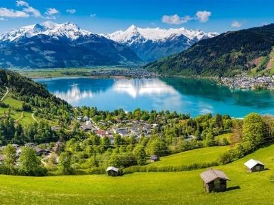 Krimmelské vodopády a Zell am See