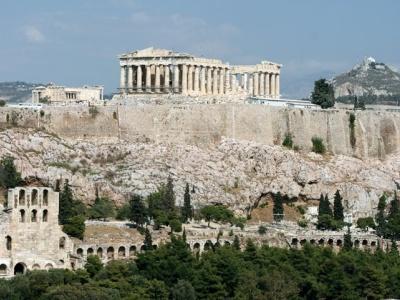 Atény letecky - výlet nejen za památkami