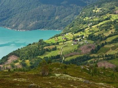Bergen a Stavanger uprostřed fjordů