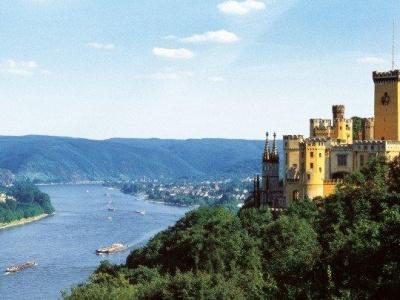 Říční plavba po romantickém Rýnu