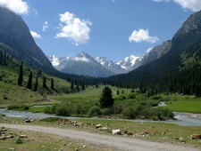 Střední Asie a grand Tour