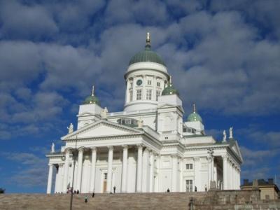 Silvestr ve zasněženém Finsku