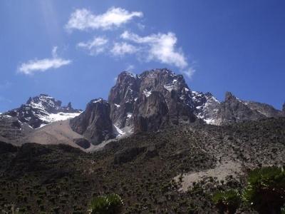 Výstup na Mount Kenya - trasa Chogoria  Sirimon