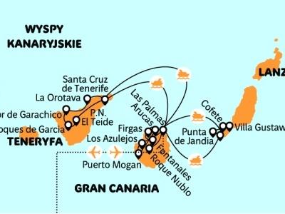 Gran Canaria, Fuerteventura a Tenerife - Kanárská trojka