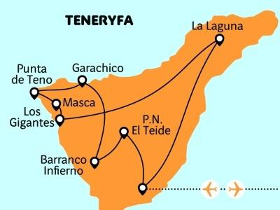 Tenerife aktivně!
