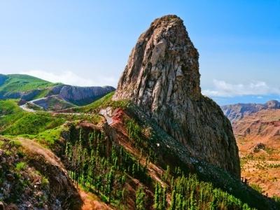 Pěší turistika na krásném ostrově La Gomera