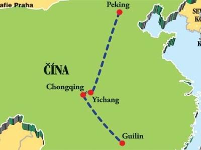 Plavby čínským vnitrozemím