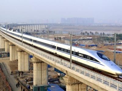 Čína vysokorychlostními vlaky