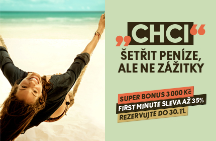 FIRST MINUTE SLEVA A� 35 %